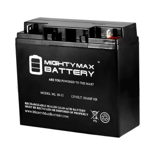Mighty Max Battery ML18-12 - 12V 18AH CB19-12