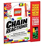 Klutz Lego Chain Reactions Science & Building Kit, Age 8+