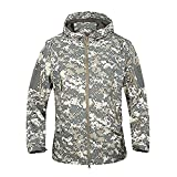 Product review for TACVASEN Men's Military Softshell Tactical Jacket Hooded Fleece Coat