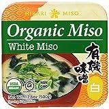 Hikari Organic Miso Paste, White, 17.6 oz