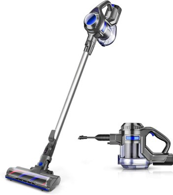 Amazon.com - MOOSOO Cordless Vacuum 4 in 1 Powerful Suction 10Kpa ...