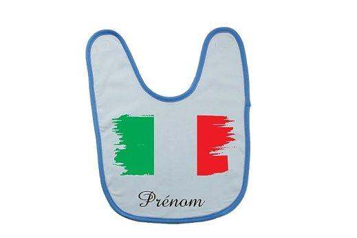 bavoir italie personnalisé