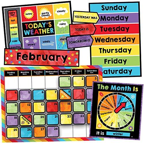 Carson Dellosa Celebrate Learning Calendar Bulletin Board Set (110376)