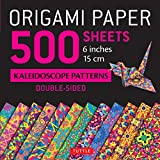Origami Paper 500 sheets Kaleidoscope Patterns 6' (15 cm): Tuttle Origami Paper: High-Quality Double-Sided Origami Sheets Printed with 12 Different Designs (Instructions for 6 Projects Included)