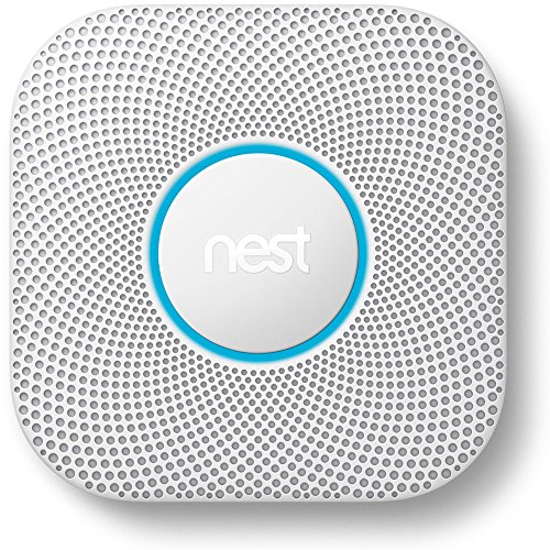 Nest Protect Smoke and Carbon Monoxide Alarm, Battery Powered (Second Generation)