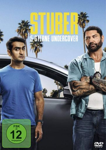 Stuber DVD