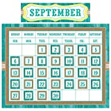 Teacher Created Resources TCR9541 Shabby Chic Calendar Set, 49 Pieces