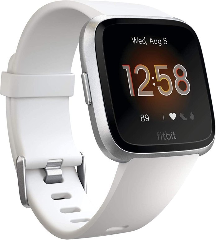 Amazon Com Fitbit Versa Lite Edition Smart Watch One Size S And L Bands Included Health Personal Care