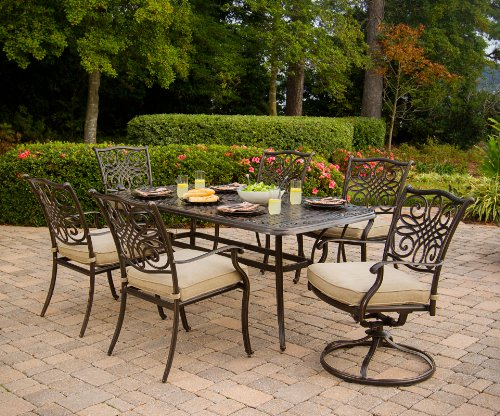 Hanover Traditions 7-Piece Outdoor Dining Set Review