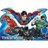 "Justice League ""Thank You"" Postcards, Party Favor"