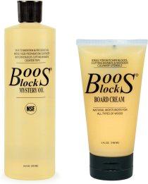 John Boos Block MYSCRM Essential Mystery Oil and Board Cream Care