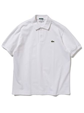 「LACOSTE × BEAMS / 別注 ヘビー ポロシャツ」の画像検索結果