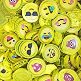 Fort Knox Unique Emoji & Emoji Poop Cake Milk Chocolate Coins with Stickers Non-GMO, (Gift Box12oz)