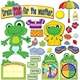 Carson Dellosa Funky Frog Weather Bulletin Board Set (110208)