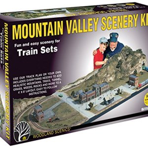 Mountain Valley Scenery Kit Woodland Scenics 61d8eMZXf3L