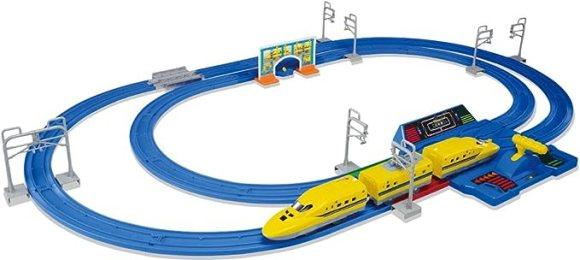 プラレール レバーでダッシュ!! 超スピードドクターイエローセット 初回限定(「スピードかえレール」増量版)