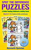 Spot the Difference Puzzles: A Brain Teasing Children's Activity Book - Book 2