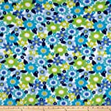 Polar Fleece Bianca Parrot Fabric By The Yard