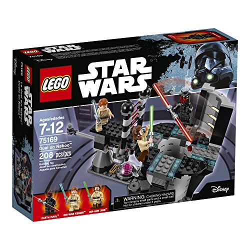 61e9ZUFEFKL LEGO Star Wars Duel On Naboo 75169 Building Kit (208 Pieces)