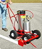 Striping Machine Model 250N Trueline Striper with 5 gallon paint tank/without #80 Nitrogen cylinder