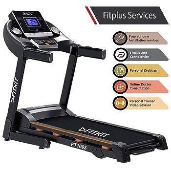 Fitkit FT100S Series Motorized Treadmill