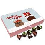 Chocholik Christmas Gift Box – Merry Christmas My Love Chocolate Box – 12pc