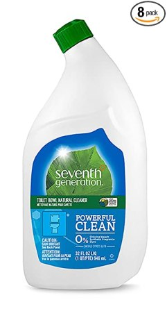 This Seventh Generation bowl cleaner will keep your bathrooms sparkly clean in a eco-friendly way!