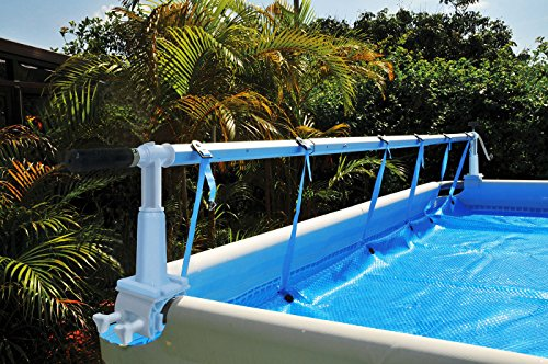Kokido Solaris Above-Ground Swimming Pool Cover Reel Set (Up To 18.6')