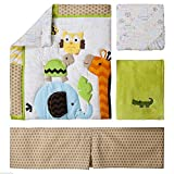 Circo Jungle Stack 4 Piece Crib Nursery Set Neutral