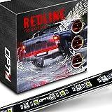 OPT7 60' Redline LED Tailgate Light Bar - TriCore LED - Weatherproof Rigid Aluminum No-Drill Install - Full Featured Reverse Running Brake Turn Signal - 2yr Warranty
