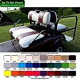 E-Z-Go TXT Custom Golf Cart Front Seat Cover Set PLUS Rear Seat Cover...