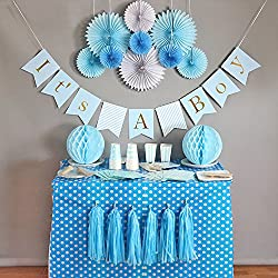 Baby Shower Decorations for Boy, It's A Boy, Banner