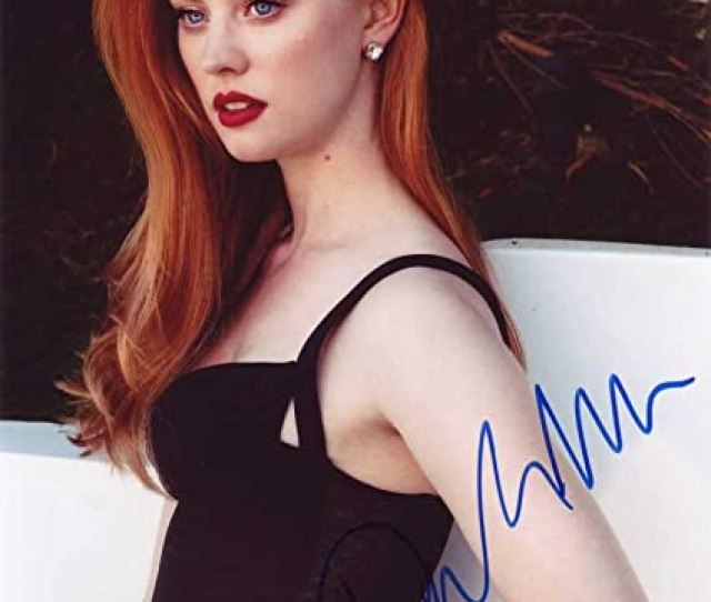 Deborah Ann Woll In Person Autographed Photo True Blood At