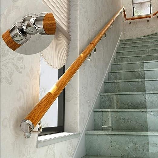 Nursing Home Handrails 4Ft 18Ft Wall Mount Elderly Railings   Handicap Handrails For Stairs   Grab Bars   Deck Railing   Stainless Steel   Ada Compliant   Wheelchair Ramp