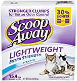 Scoop Away Lightweight Extra Strength, Scented Cat Litter, 15.4 lb