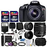 Canon EOS Rebel T6 Digital SLR Camera with 18-55mm...