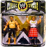 WWE Wrestling Classic Superstars Limited Edition Action Figure 2-Pack Mr. Fuji Vs. Rowdy Roddy Piper