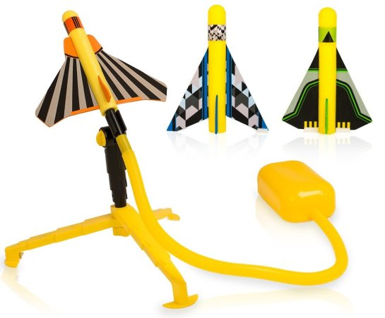 Stomp Rocket Keeps Kids Moving and Learning!