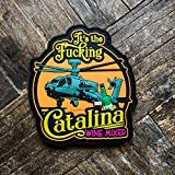 Catalina Wine Mixer PVC Morale Patch - Hook Backed by NEO Tactical