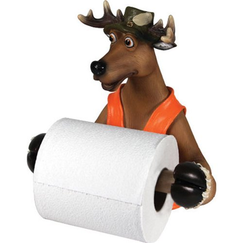 Fancy Cute Deer Toilet Tissue Holder