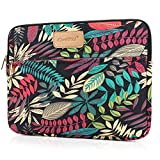 CoolBELL 13.3 Inch Laptop Sleeve Case Cover with Colorful Leaves Pattern Ultrabook Sleeve Bag for Ultrabook Like Acer/MacBook Pro/MacBook Air/Asus/Dell/Lenovo/Women/Men