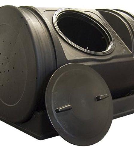 Good Ideas EZCJR-BLK 7-Cubic-Foot Compost Wizard Jr.