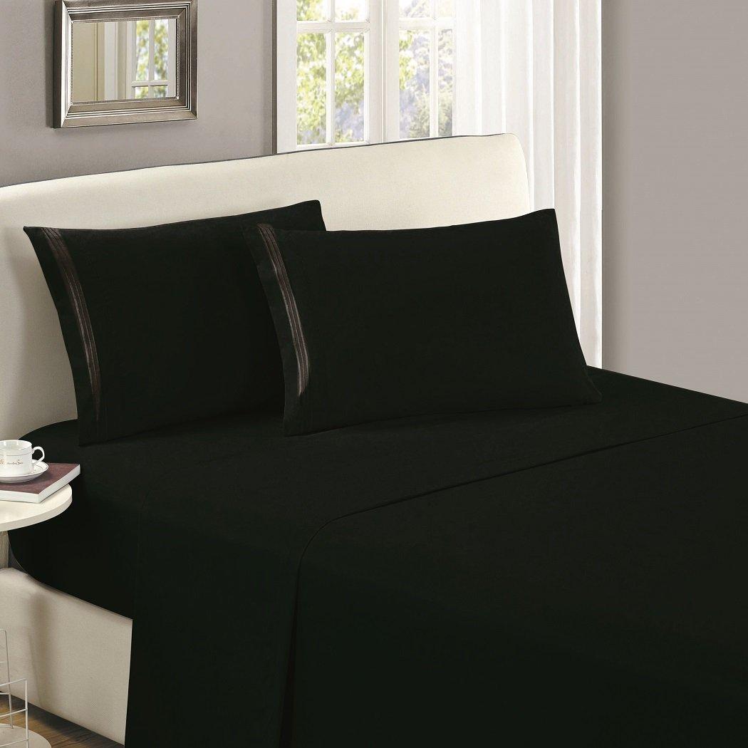 Juego de cama color negrohttps://amzn.to/2UAFfMH