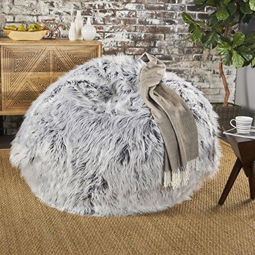 Lycus Faux Fur Bean Bag