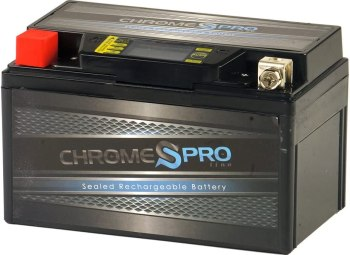 Chrome YTX7A-BS Motorcycle Battery
