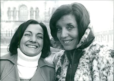 Betty Williams avec Mairead Corrigan