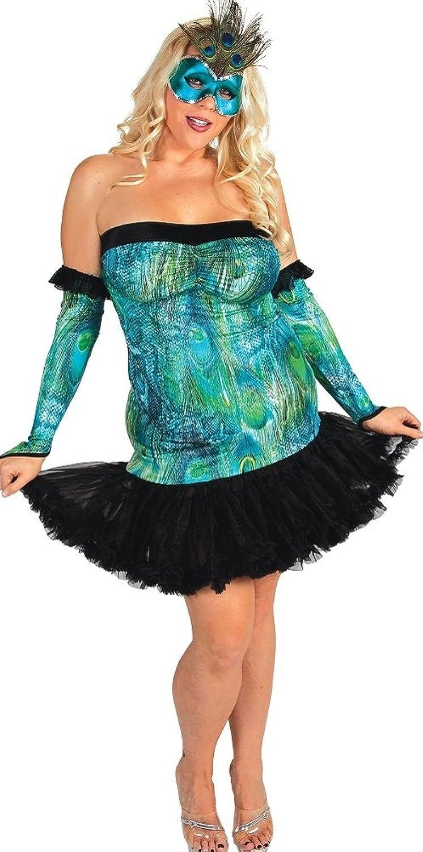 plus size peacock costume - Delicate Illusions Women's Plus Size Pea Costume