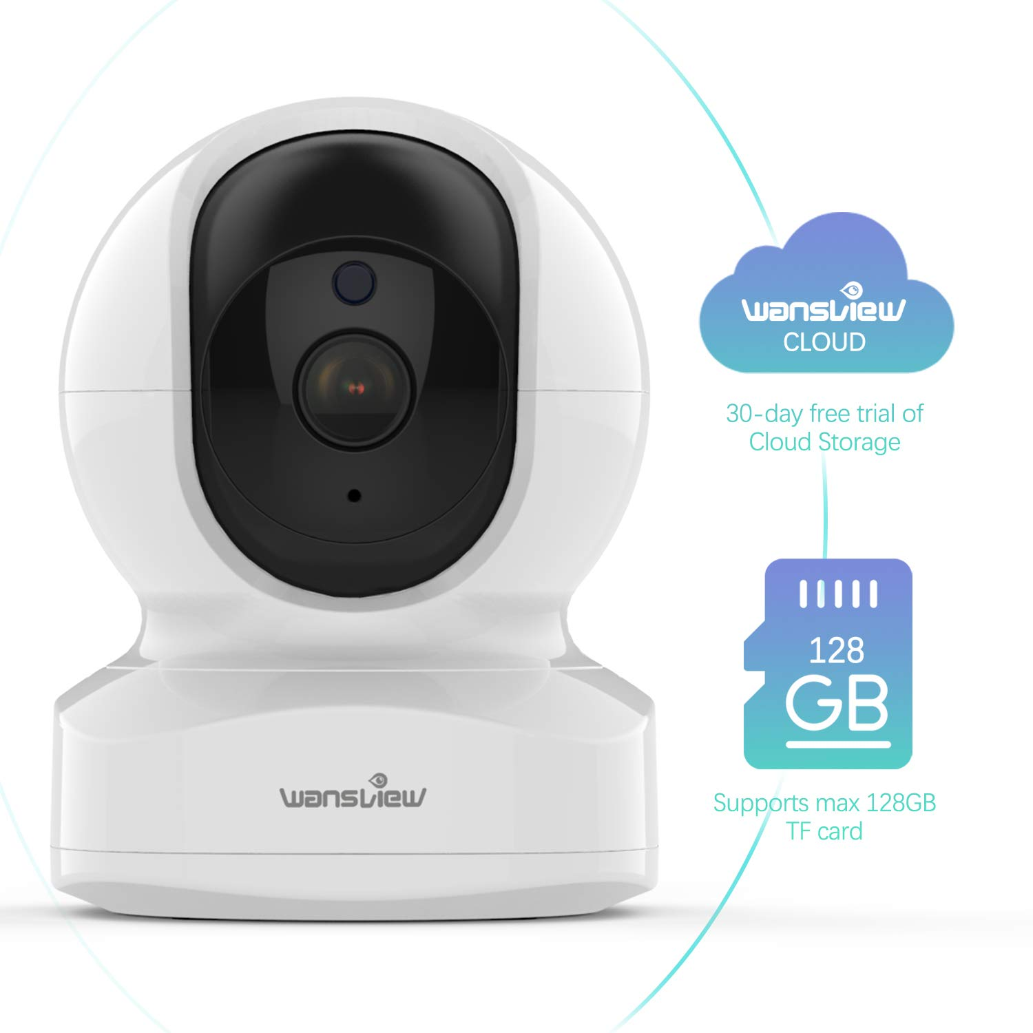 Home Security Camera, Baby Camera,1080P HD Wansview Wireless