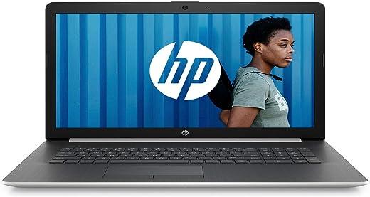 "HP 17-ca1000nf PC Portable 17,3"" HD Argent (Lecteur DVD, AMD Ryzen 3, RAM 4 Go, 1 To, AZERTY, Windows 10)"