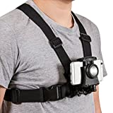 Coreal Mobile Phone Chest Mount Harness Strap Holder Cell Phone Clip Action Camera POV for Samsung iPhone Plus etc